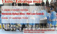 HBK Nitrianski Rytieri Nitra - HbK Lion Svidník