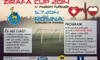 ŽIRAFA Cup 2014 v malom futbale - vyžrebovanie.