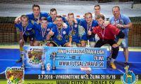 Ukončenie MIRUPO Futsalovej Žirafa Ligy Žilina 2015/16.